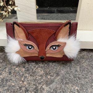 Rare Kate Spade fox wallet!